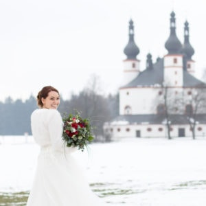 Styled Shoot – Winterhochzeit in Waldsassen | Anna-Maria