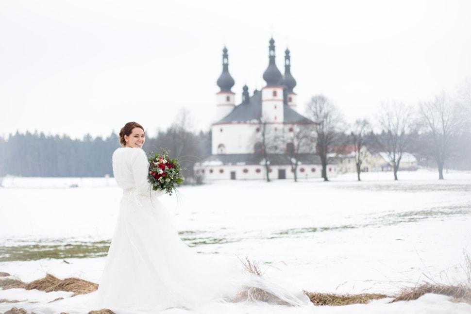 Hochzeitsfotografie im Winter