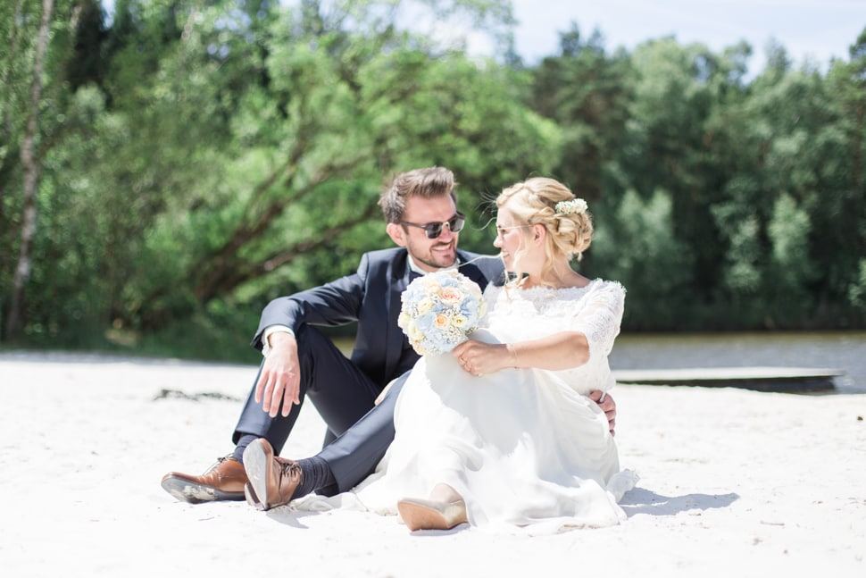 Hochzeit in der Lumperer Hall in Trabitz