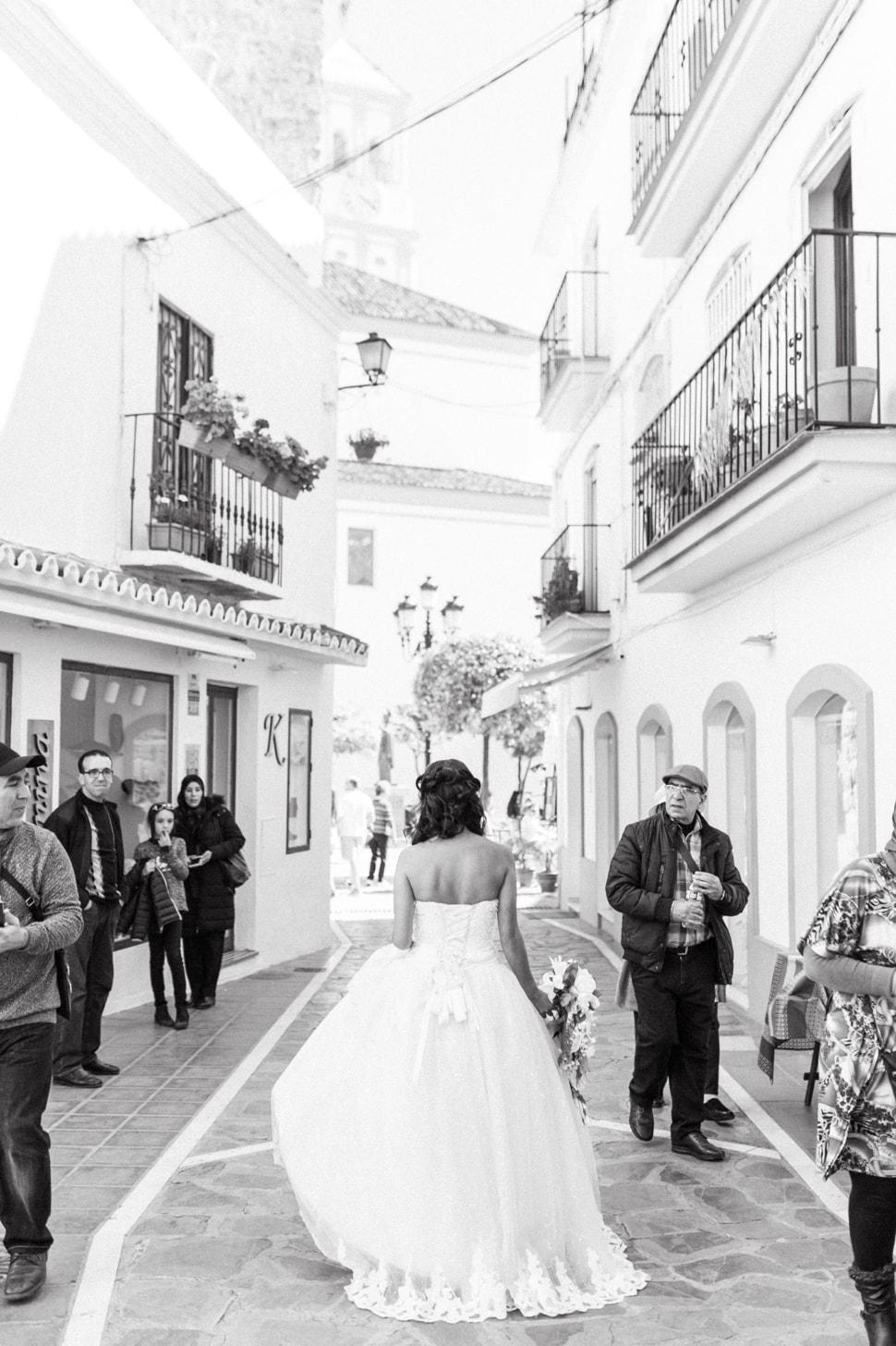 Hochzeitsfotos von Grace in Marbella